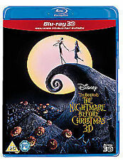 The Nightmare Before Christmas (Blu-ray 3D + Blu-ray), Very Good DVD, , Henry Se