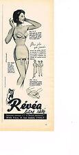 PUBLICITE ADVERTISING 044   1960   REVEA  soutien gorge slip LIGNE REVEE