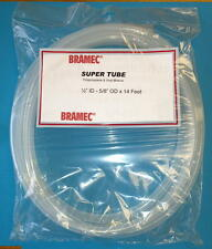 "Bramec Plastic Tube Tubing Hose 1/2"" Id 5/8"" Od x 14 Feet"