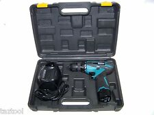 12V CORDLESS DRILL DRIVER and 13 PC HEX SHANK  QUICK CHANGE DRILL BITS MOLLER