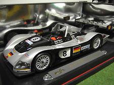 Audi R8 le Mans Sieger 1999 gr #8 1/18 Maisto 38881 Voiture Miniature Collection