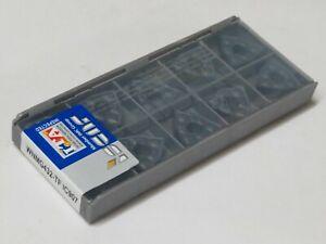 10 pcs ISCAR carbide inserts WNMG 432 TF / WNMG 080408-TF Grade IC907
