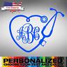 Medicine Custom Monogram Decal Sticker - Premium Car Wall Laptop Car Phone