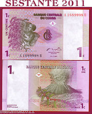 CONGO - 1 CENTIME 1997 - P. 80 - FDS / UNC
