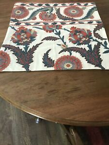 Pottery Barn Embroidered Pillow Case