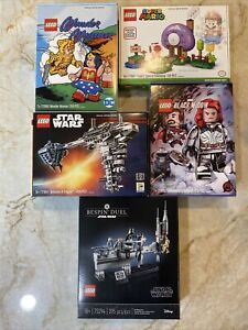 2020 LEGO SDCC LIMITED EDITION SETS 77904 77905 77906 77907 75294 Retired Rare