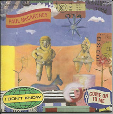 PAUL MCCARTNEY-I Dont Know / Come On To Me (Limited Edition) (Black Fr VINYL NEW