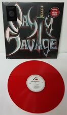 Nasty Savage self titled 1985 Opaque Blood Red Vinyl Record new 2016 Reissue