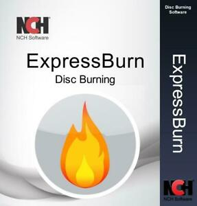 NCH Express Burn Disc Burning Software