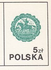 POLAND 1985 MINT Postcard Cp#912b Intl Phil. Exhib. SOZPHILEX,85  BERLIN