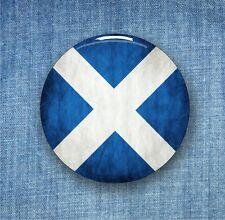 Scotland Flag - Large Button Badge - 58mm diameter