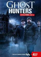 Ghost Hunters: Ninth Season Nine 9, Part 1 One (DVD, 2014, 4-Disc Set) - NEW!!