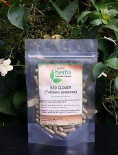 Red Clover (Trifolium pratense) - 100x Pure Herbal Capsules. Aids Menopause