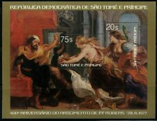 St. Tome Principe 1977 souvenir sheet Rubens MNH Sc  CV $13.50 180117064