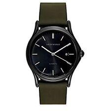 Armani ARS3016 Men's Swiss Made Black Automatic Watch