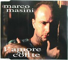 """MARCO MASINI - 3 TRACKS PROMO CD """"L'AMORE SIA CON TE"""""""