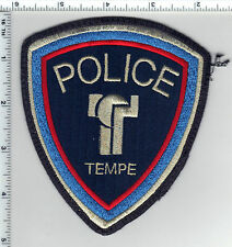 Tempe Police (Arizona) Shoulder Patch RARE uniform takeoff from the early 1980's