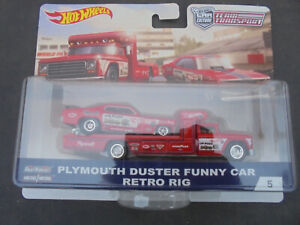 1/64 Hotwheels Plymouth Duster set new in box