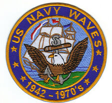US NAVY WAVES PATCH