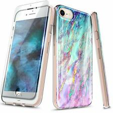 For iPhone SE / 5s / 5 Case [Thin Fit] Ultra Slim Phone Cover + Tempered Glass