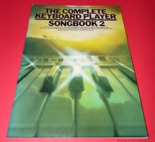 THE COMPLETE KEYBOARD PLAYERS Songbook 2 * Kenneth Baker *