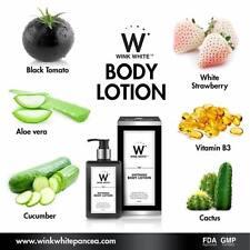 New Whitening Healthy Body Skin Brighten Lotion Natural Dark Spot Sunscreen UV
