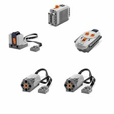 LEGO 5pc Power Functions M Motor Battery IR Remote Receiver SET robot Technic