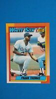 1990 TOPPS BASEBALL #414 FRANK THOMAS RC WHITE SOX MINT