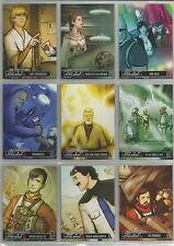 "Star Wars Illustrated - ""One Year Earlier"" Set of 18 Chase Cards #OY-1-18"