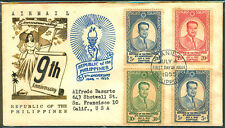 1955 9TH ANNIVERSARY REPUBLIC OF THE PHILIPPINES First Day Cover