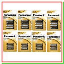 Pile Alcaline PANASONIC 16 AA Stilo + 16 AAA Ministilo = 32 Batterie Scad. 2028