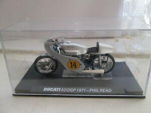 PHIL READ DUCATI 500GP 1971 1-24 SCALE IXO MOTORCYCLE  MODEL