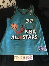 Nba Champion All Star Shaquille Oneal 40 Jersey
