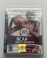 NCAA March Madness 08 PlayStation 3 SEALED!! (Read Description) KEVIN DURANT PS3