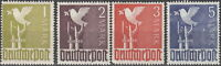 Stamp Germany Bundespost Sc 0574-7 1947-8 Deutsche Post WWII Occupation Set MNH