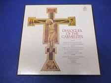 Poulenc Dialogues Of The Carmelites Dervaux Comp ;CL-3585, 3 Records with Score