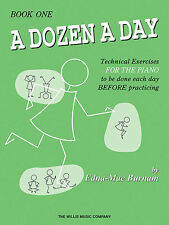 A DOZEN A DAY-MUSIC BOOK 1 PIANO/KEYBOARD TECHNICAL EXERCISES BRAND NEW ON SALE