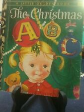 THE CHRISTMAS ABC Little Golden Book 1962 #289 (VGC)