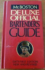 New listing Vintage 1966 Old Mr.Boston De Luxe Offical Bartender's Guide