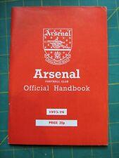 arsenal handbook 1975-1976