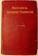 Lionel S. Marks 1916 Mechanical Engineers' Handbook First/ 1919 6th Printing