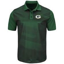 Green Bay Packers NFL Club Seat Polo Shirt Mens Size S New $55