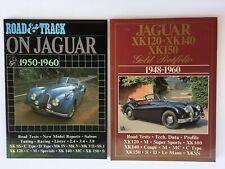 Jaguar Road & Track XK150 1948-60 race car auto magazine book Vintage Rare RB14