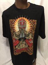WWE Rey Mysterio Graphic Tshirt XL AUTHENTIC WEAR WWF WRESTLING Mask