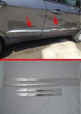 Side Panel Door Sill Body Cover trim for 2013-2017 FORD Ecosport Molding Chrome