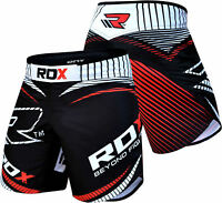 RDX MMA Grappling Kick Boxing Shorts Men Muay Thai Gym Wear Fighting Short U