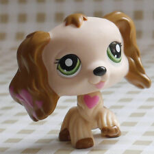 LPS  Loves heart Cocker Dog FIGURE 2 inch tall LITTLEST PET SHOP