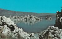 A)  Mono Lake, CA - Scenic View of Lake and Surroundings from Shoreline