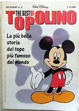 THE BEST OF TOPOLINO PIU DISNEY N.5 1999 FUMETTO