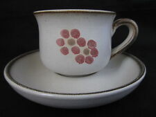 Denby Pottery Cups & Saucers